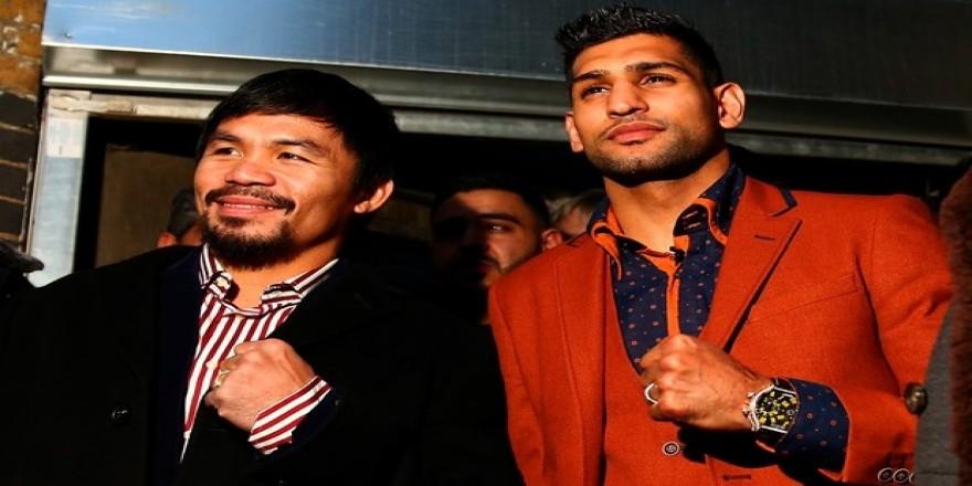 Twitter kararını verdi: Pacquiao ve Khan Nisan'da dövüşecek!