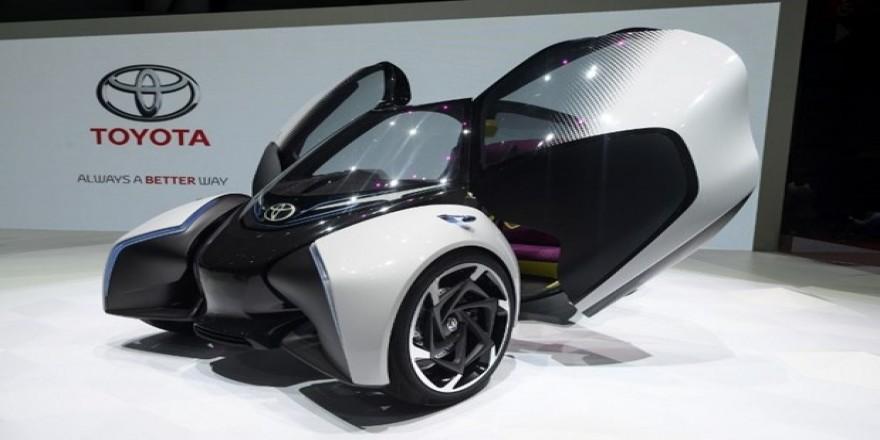 Toyota'nın i-TRIL Concept'i görücüye çıktı