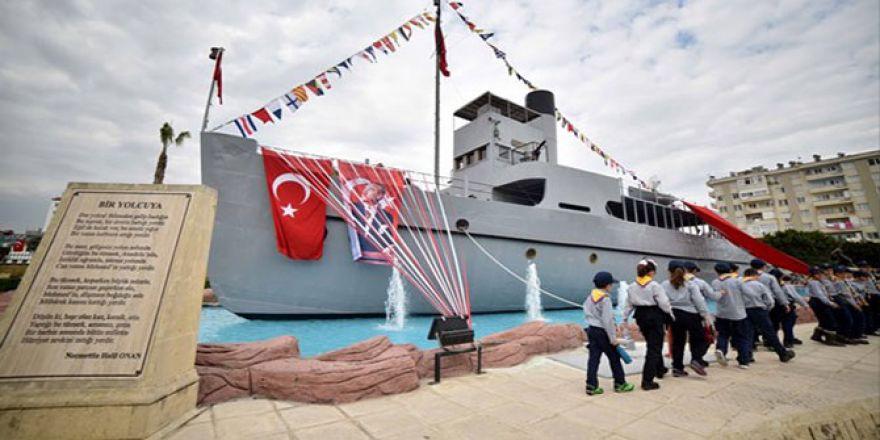 Çanakkale Destanı'nın tanığı: Nusret Mayın Gemisi