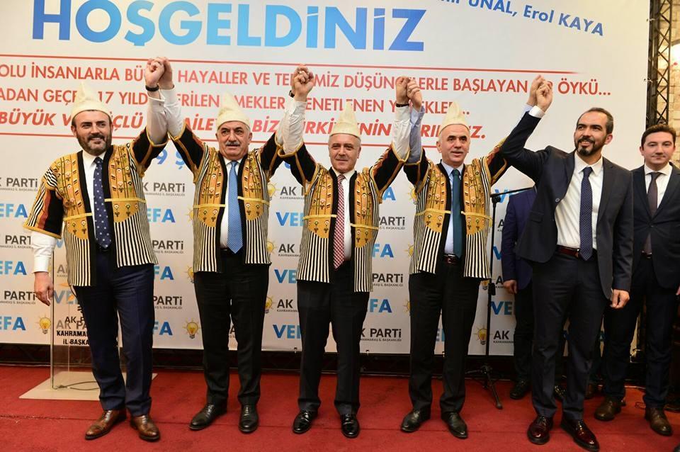 """AK PARTİ""""VEFA"""" YEMEĞİNDE BULUŞTU 1"""
