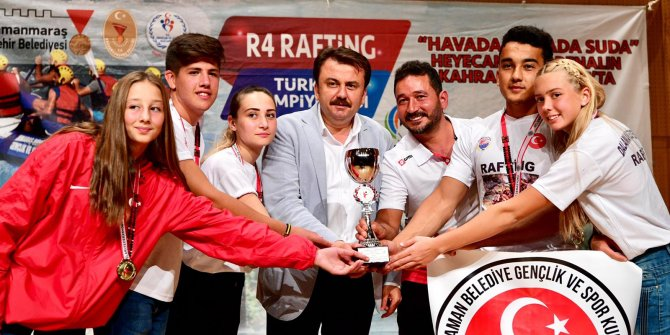 Kahramanmaraş'ta Türkiye Rafting Şampiyonası Ödülleri Dağıtıldı