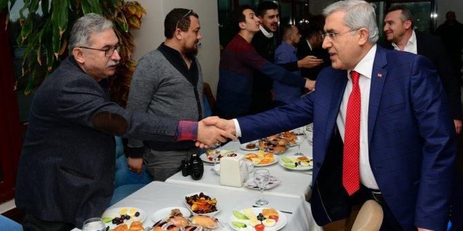 KSÜ Rektörü Niyazi Can, Basın Mensuplarıyla Bir Araya Geldi