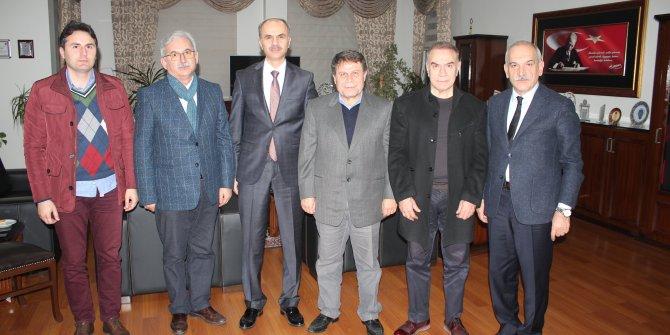 Kahramanmaraş Baro başkanı ve Başsavcıyı ziyaret ettiler