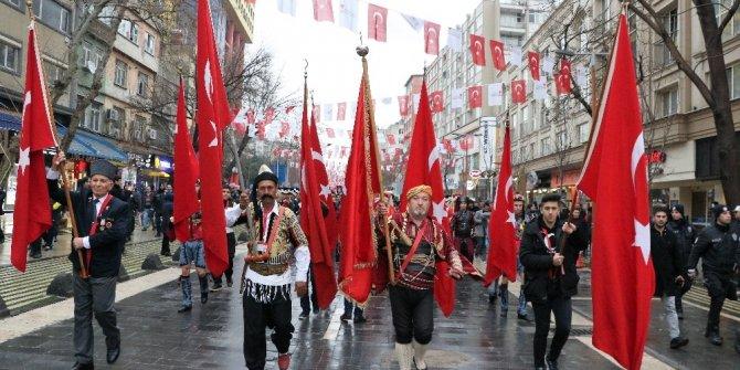 Kahramanmaraş'ta 12 Şubat Kurtuluş Bayramı coşkuyla başladı