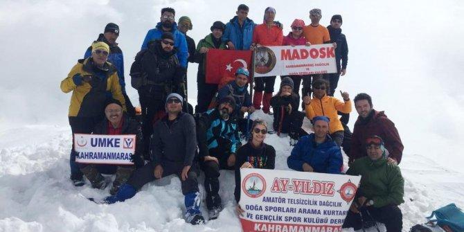 Berit Dagı'na Kış Tırmanışı Gerçekleştirildi