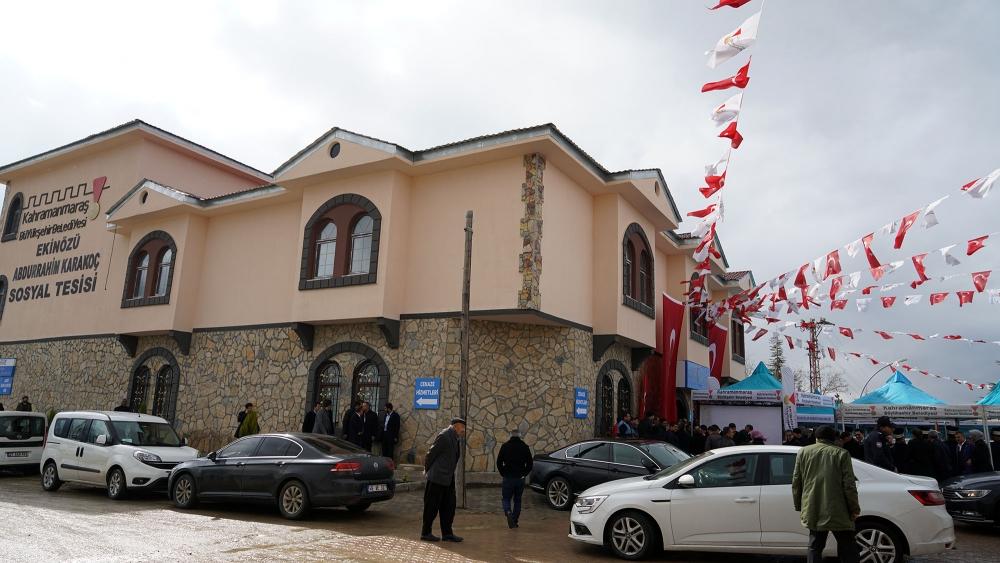 Ekinözü Abdurrahim Karakoç Sosyal Tesisi Hizmete Açıldı 1