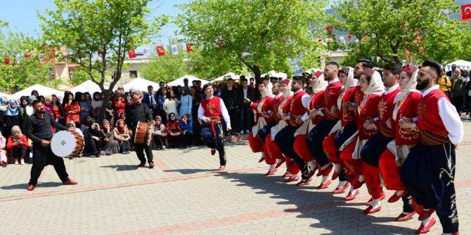 KSÜ'de 2 Gün Sürecek Bahar Şenlikleri Başladı