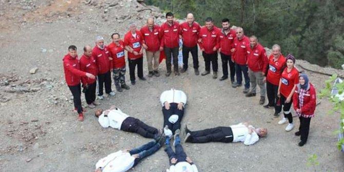 Kahramanmaraş Dağ Arslanları Andırın Şelalelerine gezi düzenlendi