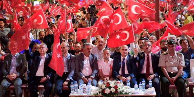 Kahramanmaraş'ta 15 Temmuz Coşkulu Bir Şekilde Anıldı