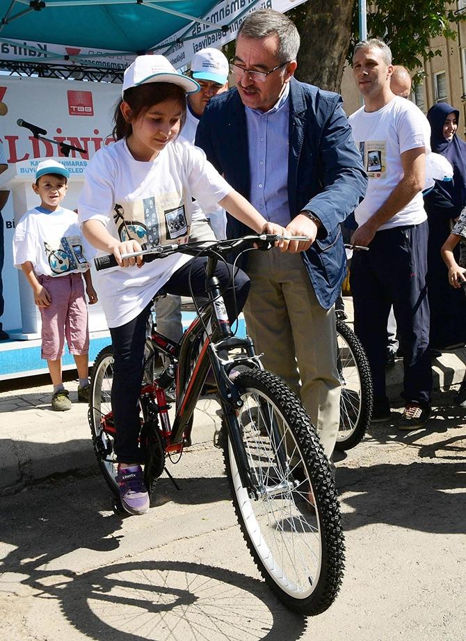 Kahramanmaraş'a bisiklet yolları geliyor 1