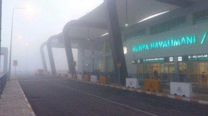 Hava trafiğine sis engeli