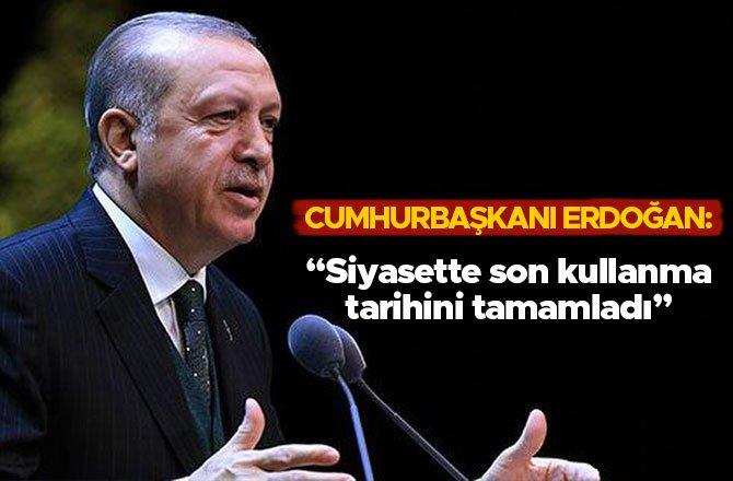 """""""SİYASETTEKİ SON KULLANMA TARİHİNİ TAMAMLADI"""""""