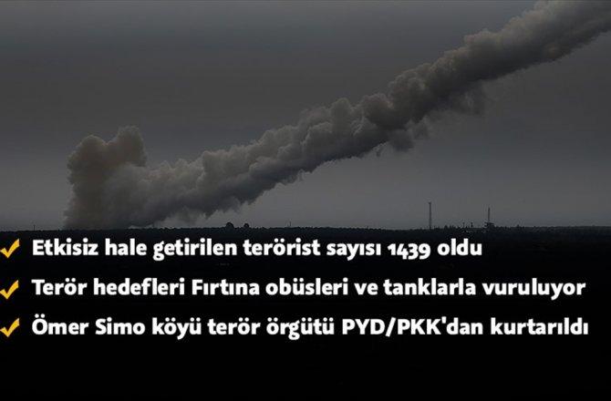ÖMER SİMO KÖYÜ PYD/PKK'DAN TEMİZLENDİ