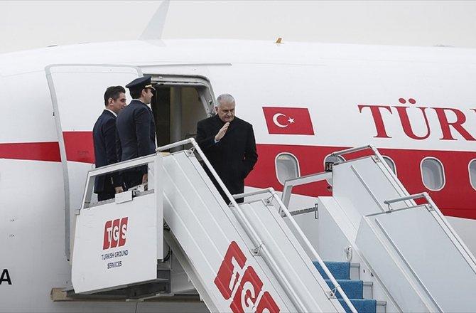 BAŞBAKAN YILDIRIM YARIN AZERBAYCAN'A GİDECEK