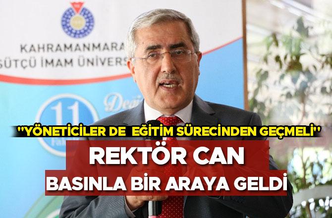 """""""YÖNETİCİLER DE  EĞİTİM SÜRECİNDEN GEÇMELİ"""""""