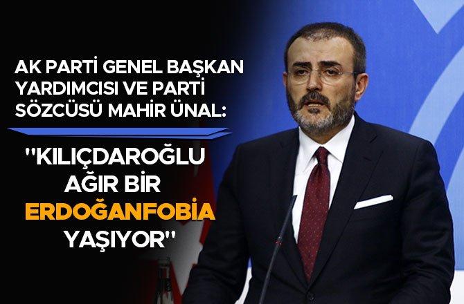 """""""KILIÇDAROĞLU AĞIR BİR ERDOĞANFOBİA YAŞIYOR"""""""