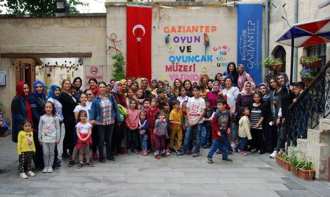 MENEKŞE ANAOKULU ÖĞRENCİLERİ GAZİANTEP'TE