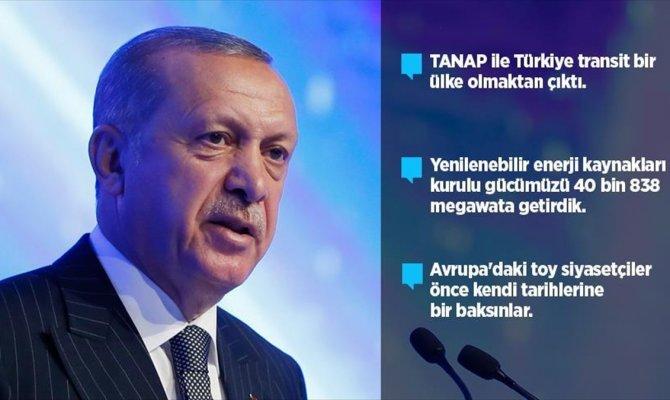 'TANAP ile Türkiye transit bir ülke olmaktan çıktı'