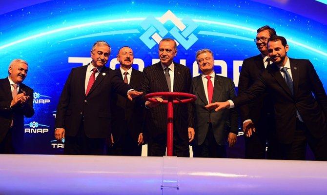 Asrın projesi TANAP hizmete açıldı