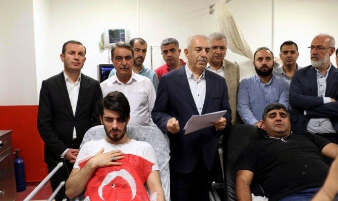 AK Parti Mardin Gençlik Kollarına çirkin saldırı