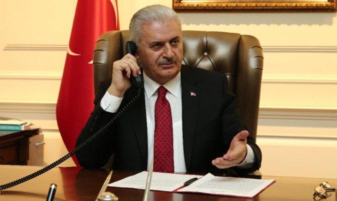 Başbakan Vali Özkan'ı arayarak bilgi aldı