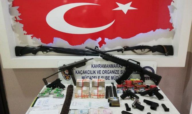 Kahramanmaraş'ta organize suç örgütüne şafak operasyonu! Çok sayıda gözaltı var