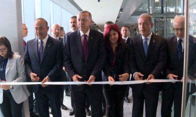 Açılışını Erdoğan yaptı