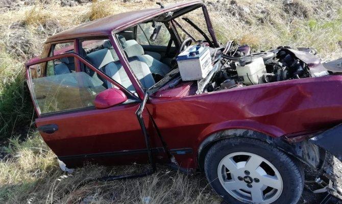Kahramanmaraş'ta trafik kazası: 1 ölü, 3 yaralı