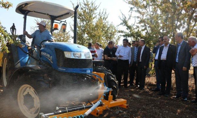 Kahramanmaraş'ta Badem üretiminde teknolojik tarım
