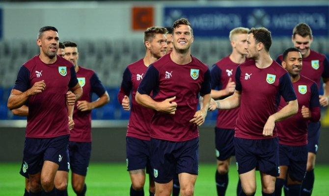 Burnley, Başakşehir maçı hazırlıklarını tamamladı