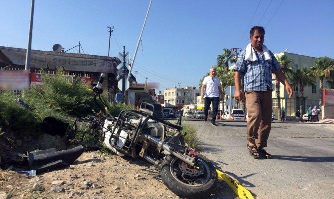 Tren kazası kamerada: 1 ölü, 1 yaralı