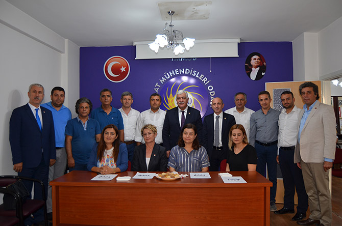 CHP, Kahramanmaraş'ta STK'larla masaya oturdu