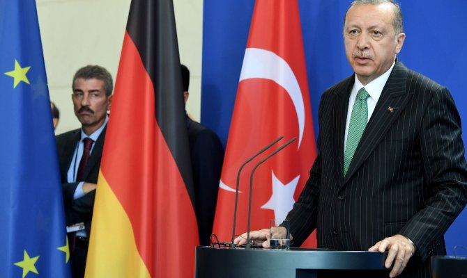 Erdoğan'dan Almanya'ya çağrı