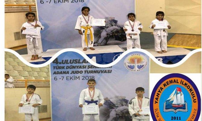 Yahya Kemal Judo Şampiyonasında birinci oldu