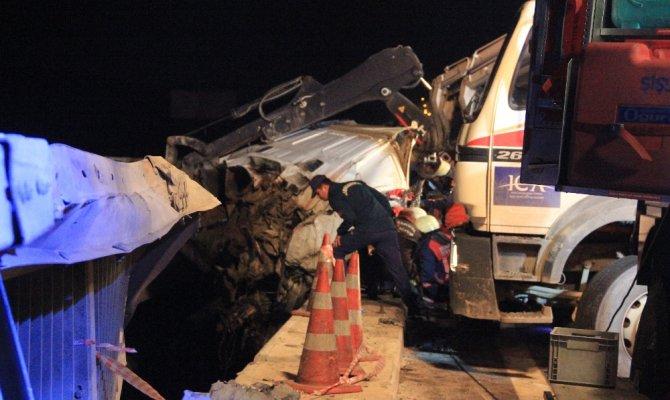 Yavuz Sultan Selim Köprüsünde feci kaza: 2 ölü