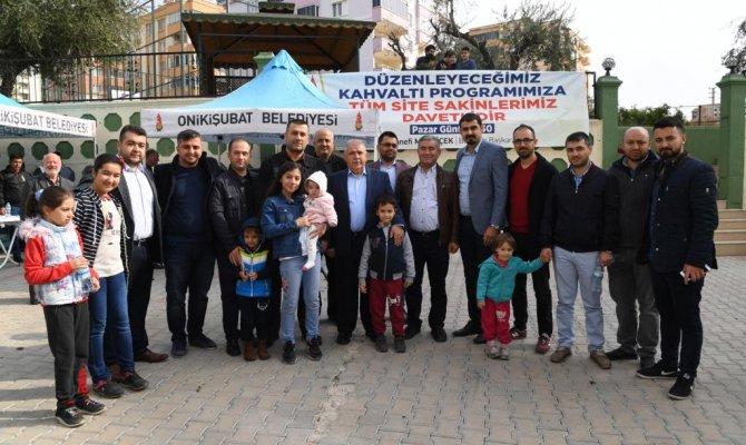 Gönüllere Taht Kuran Belediye Komşuları Buluşturdu
