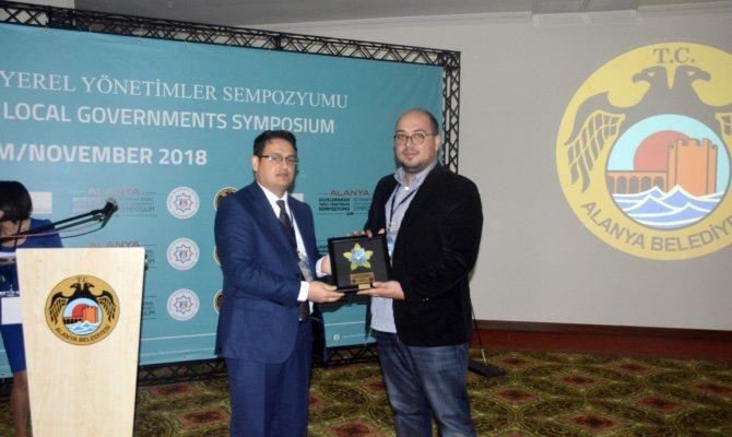 Kahramanmaraş'a Uluslararası Bilim Ödülü Verildi