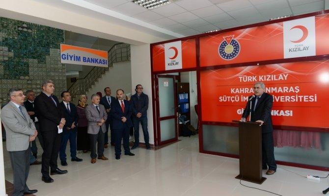 KSÜ Giysi Bankası Zenginleştirildi
