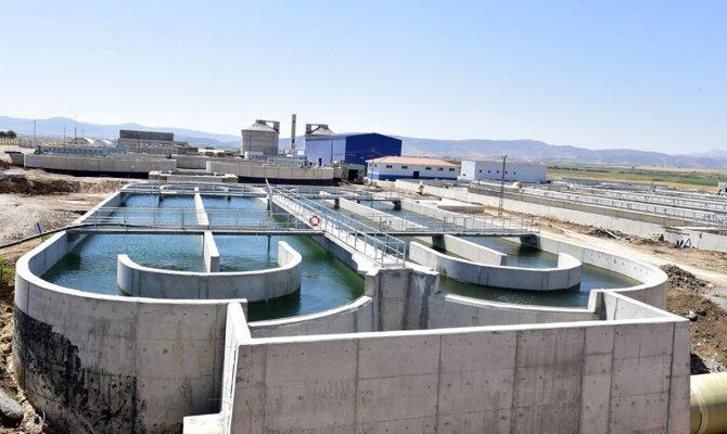 600 bin kişinin atık suyu arıtılıyor