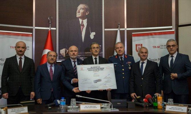Milli Muharip Uçak motoru için sözleşme imzalandı