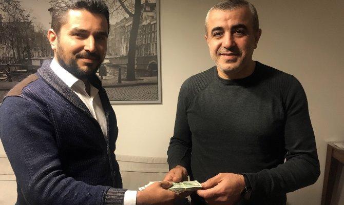 UBER şoförü iş adamının 80 bin lirasını teslim etti