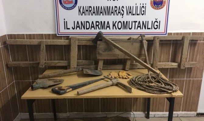 Kahramanmaraş'ta 10 defineci suçüstü yakalandı