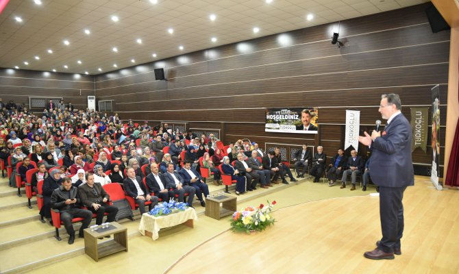 Prof.Dr. Mustafa Karataş Türkoğlu'nda