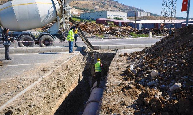 Kaski'den Yeni Kanalizasyon Ve Yağmur Suyu Hattı