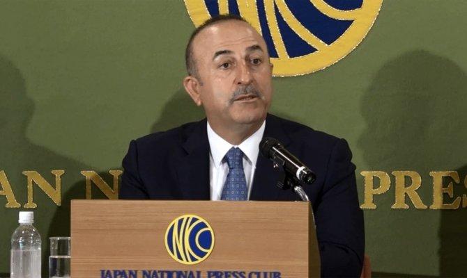 Bakan Çavuşoğlu'ndan Fransız bakana tepki