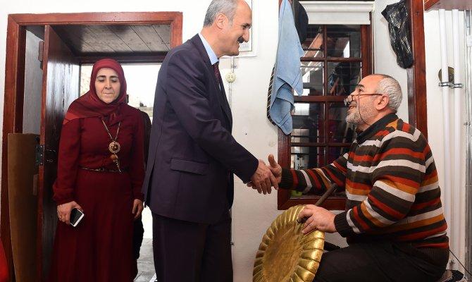 Başkan Okay Olgunlaşma Enstitüsü'nü Ziyaret Etti