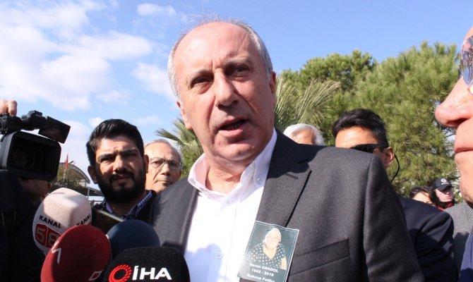 Muharrem İnce'den İstanbul adaylığı yorumu