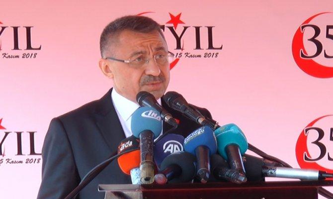 Cumhurbaşkanı Yardımcısı Oktay'dan Rumlara net mesaj