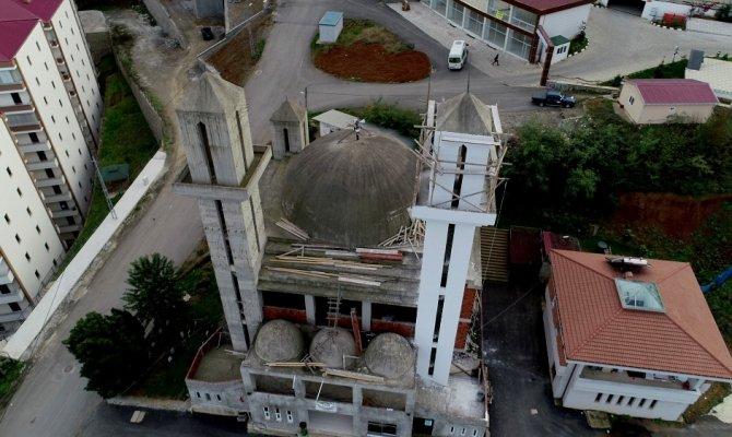 Kiliseye benzetilmişti: Yapımına yeniden başlandı