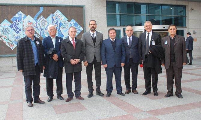 Milletvekili Özdemir, KMBGC Heyetini TBMM'de Ağırladı